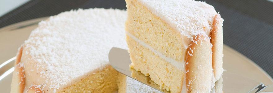 Gâteau au yaourt à la noix de coco