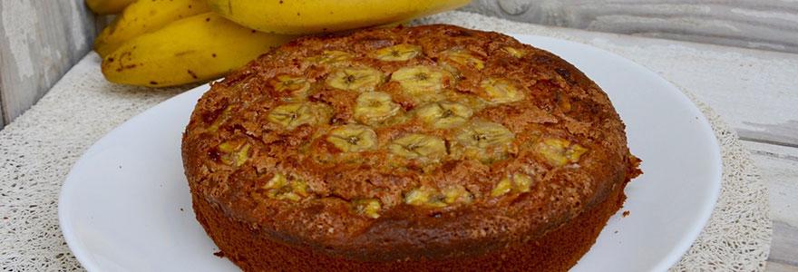 Gâteau au yaourt et à la banane