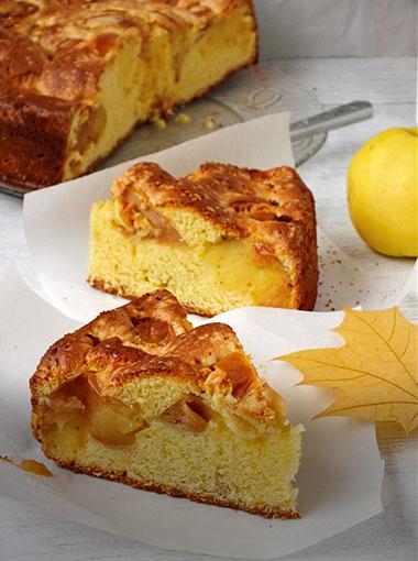 Gâteau-au-yaourt-à-la-pomme