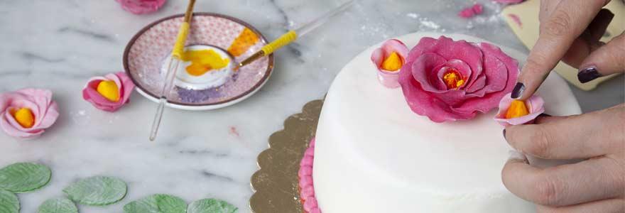 décorer vos gâteaux